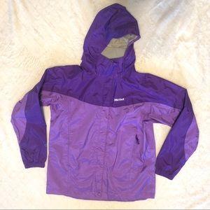 Marmot purple precip rain jacket/ XL
